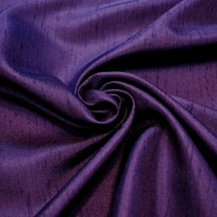 Imitation Silk Polyester Dress Fabric - Purple