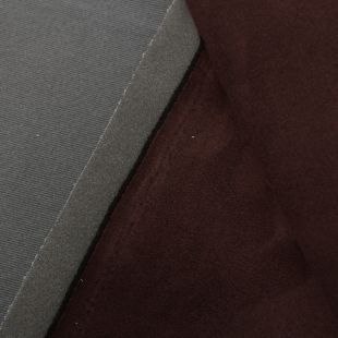 Scrim Foam Backed Faux Suede Vehicle Headlining Upholstery Fabric - Brown