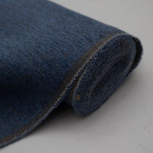 Woven Royal Blue Chenille  Upholstery Furnishing Fabric