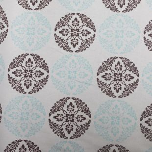 Paisley Circles  Lightweight Furnishing Fabric