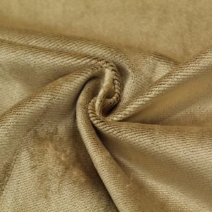 Gold Velvet Motif Clearance Upholstery Furnishing Fabric