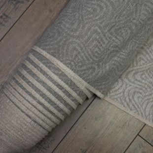 Woven Grey Patterned Fabric Upholstery Furnishing Fabric