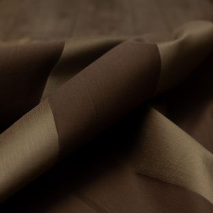 Gold and Brown Stripe Lightweight Furnishing Fabric