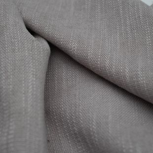 Pale Pink Blended BasketWeave Upholstery Furnishing Fabric