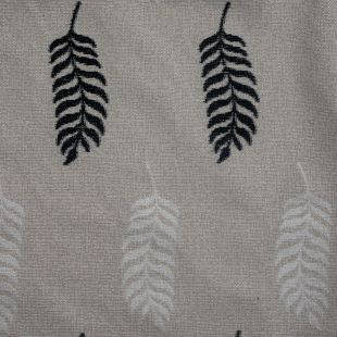 Palm Embroided Canvas Upholstery Furnishing Fabric