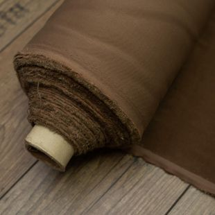 Light Brown Suede Lightweight Furnishing Fabric