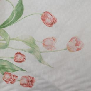 Tulip Printed Cotton Lightweight Furnishing Fabric