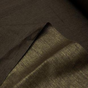 Golden Coated Brown Canvas Lightweight Furnishing Fabric