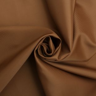 Lightweight Bronze Twill Weave Satin Curtain Fabric