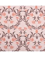 Sienna 100% Cotton Slubbed Linen Look Upholstery Fabric - Amour Floral