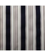 Fryetts Princeton 100% Cotton Ticking Stripe Upholstery Fabric - Harbour Blue