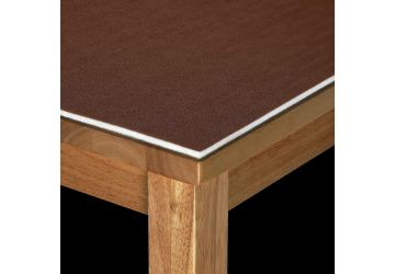 Luxury Table Protector Brown 10mm 110cm